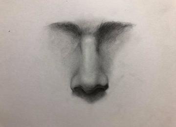 人像繪畫練習